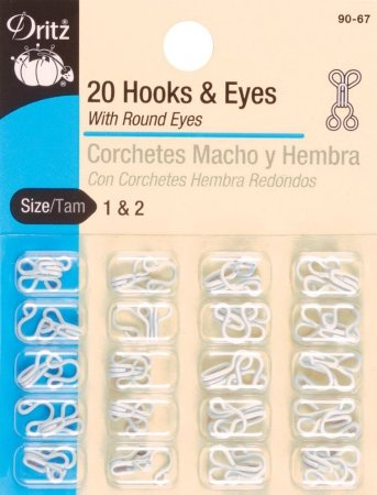 Hooks & Eyes - #1 & #2