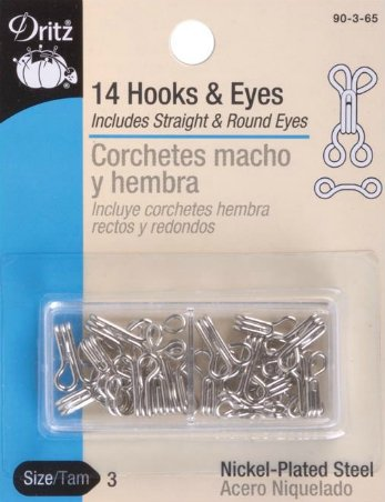 Hooks & Eyes - #3