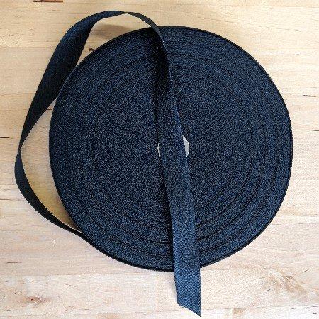 Twill Tape : 100% Cotton - 3/4 (Black)