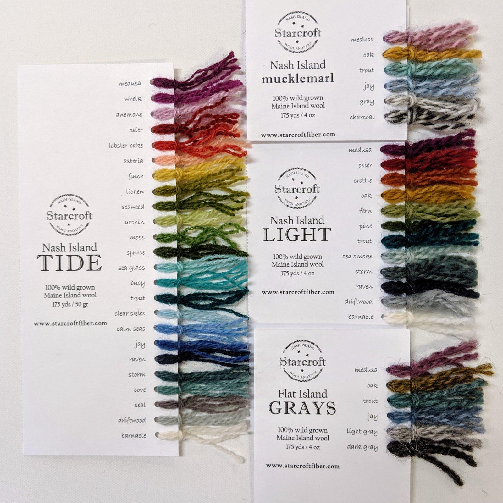 Nash Island Color Cards