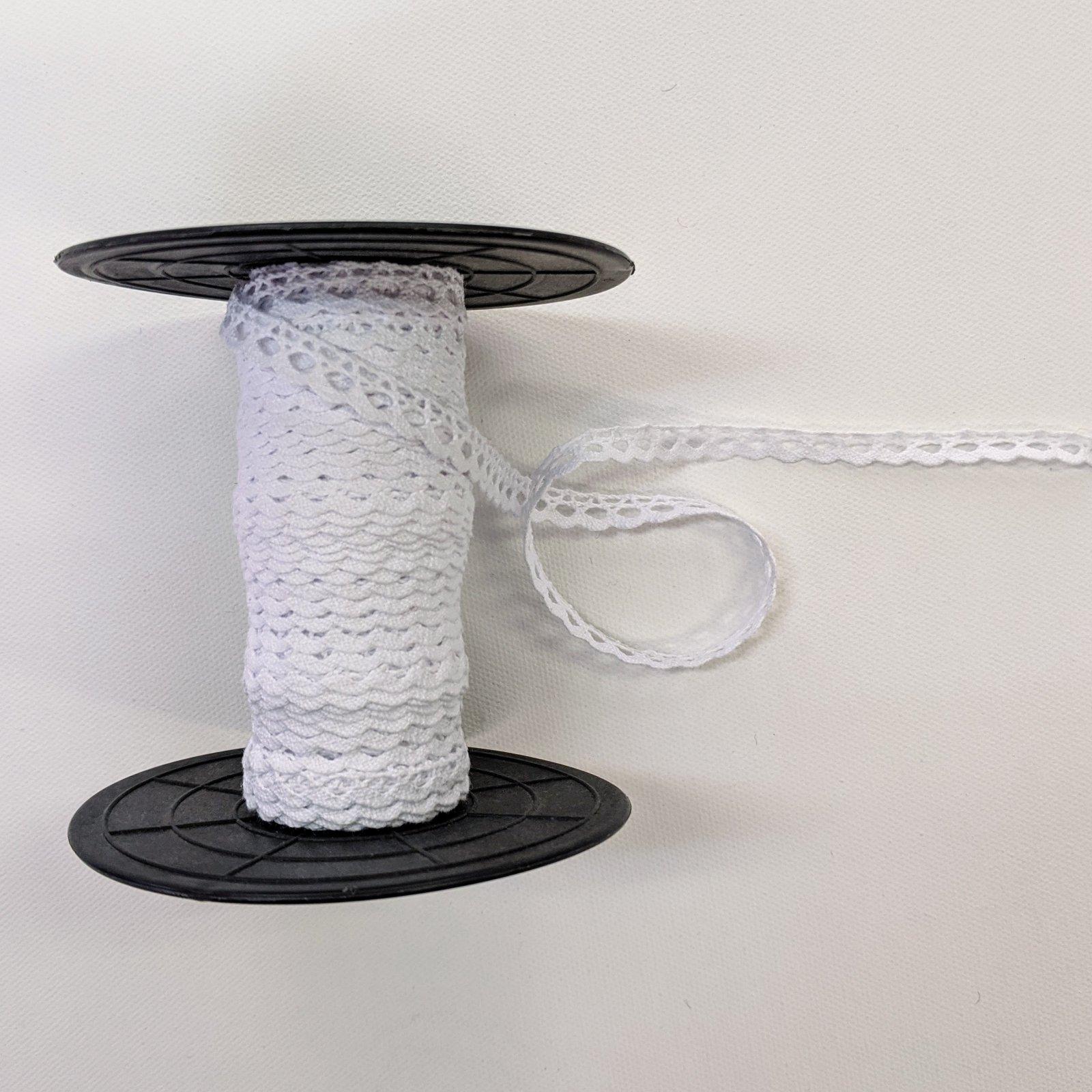 Cluny Cotton Lace : Scallop Edge (3/8)