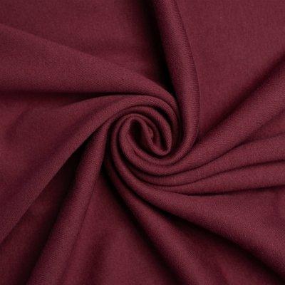 Knit Interlock : Birch Organic - Mulberry