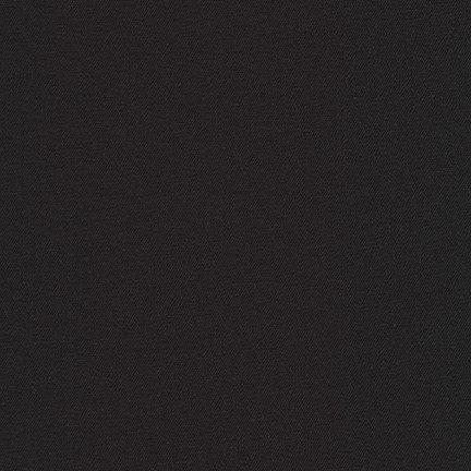 Twill : Jetsetter Stretch - Black