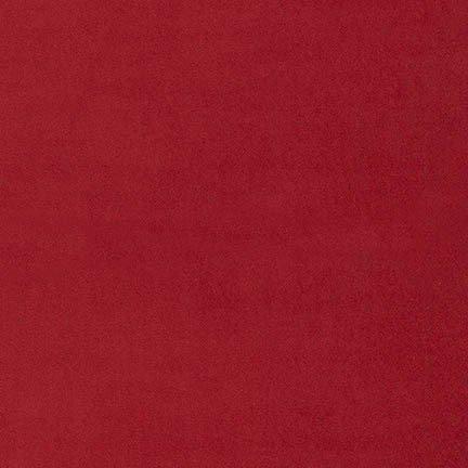Velveteen : 100% Cotton - Scarlet