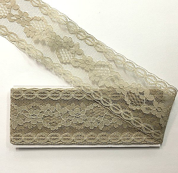 Lace Hem Facing : 1-3/4 x 2.5yds pkg