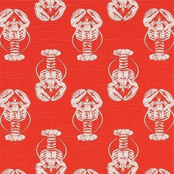 Slub Canvas : Lobster (Coral Pink)