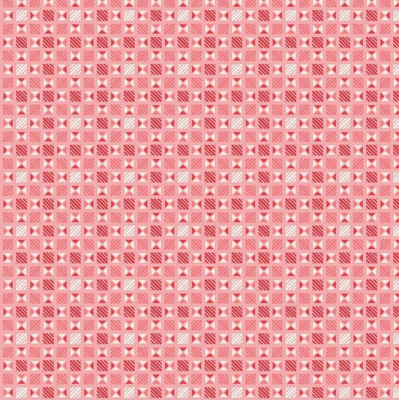 Lawn Print : Linen & Lawn LW6344 - Pink