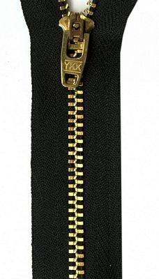5 Jeans Zipper : Metal #4.5 (Navy)
