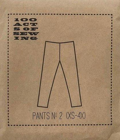 Pants No. 2 Pattern