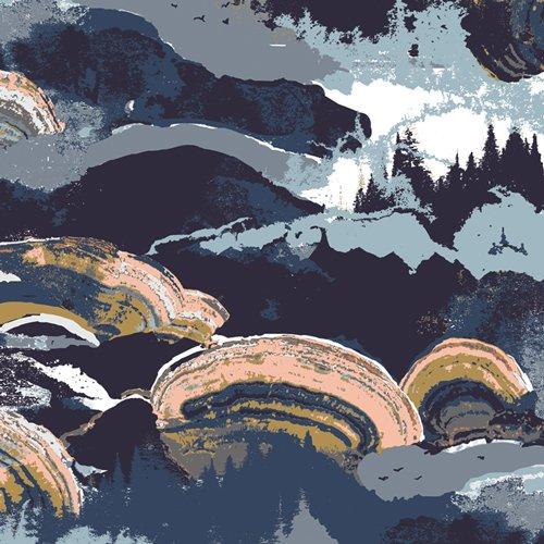 Rayon Prints : Gaia (Eventide)