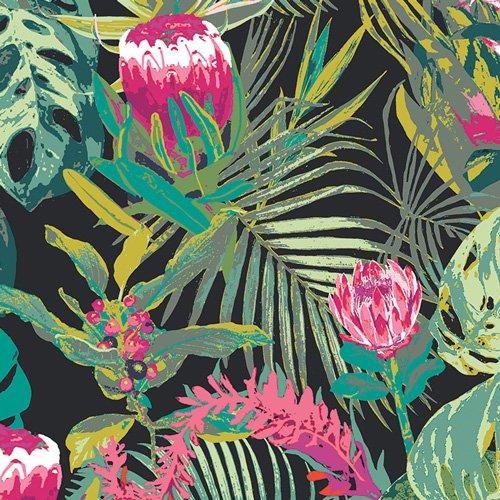 Rayon Prints : Tropicalia (Dark)