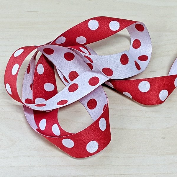 Reversable Ribbon : Dots (1)