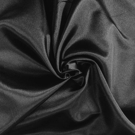 Bridal Satin - Black
