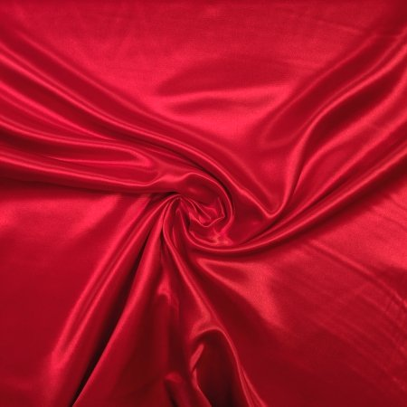 Bridal Satin - Red