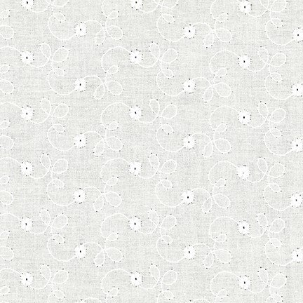 Eyelet : Rebecca Embroideries - OO (Ivory)