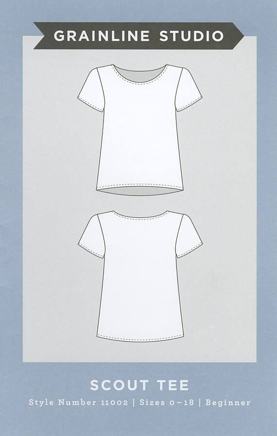 Scout Tee Top Pattern