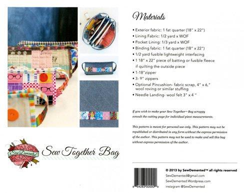 Sew Together Bag Pattern