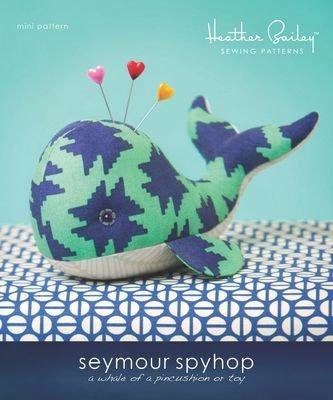 Seymour Spyhop - Whale Pincushion Pattern