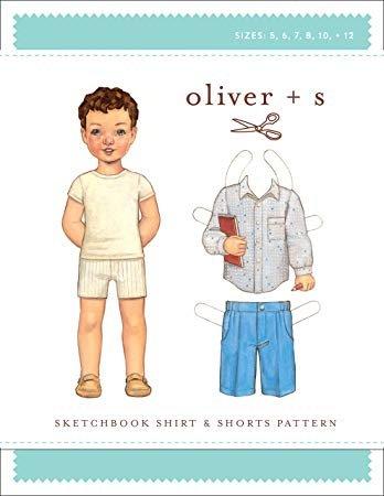 Sketchbook Shirt & Shorts Pattern