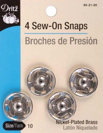 Snaps : Sew-On Whopper Popper - #10