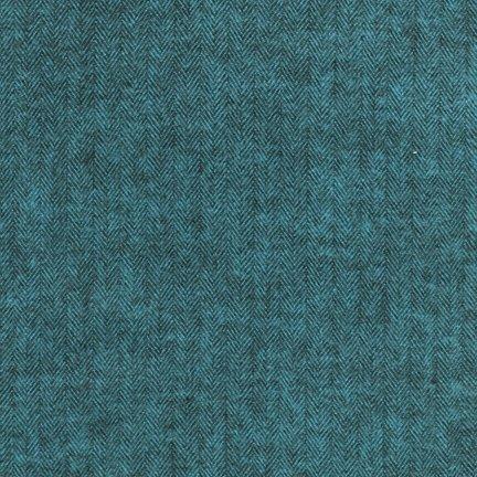 Flannel : Shetland - 13936 (Ocean)