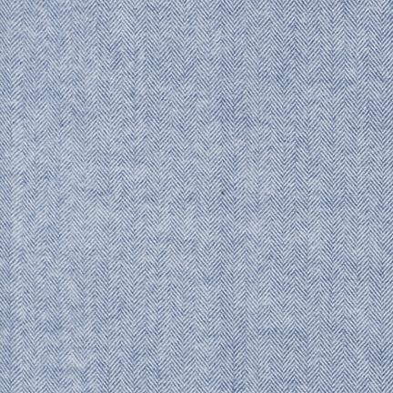 Flannel : Shetland - 13936 (Denim)