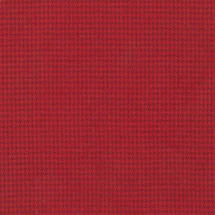 Flannel : Shetland - 15617 (Red)