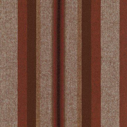 Flannel : Taos Stripes - 18877 (Mocha)