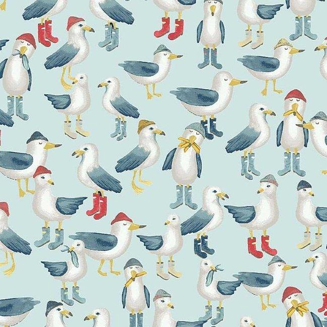 QC : Hooked on a Feeling - Flock of Seagulls (Skylight)