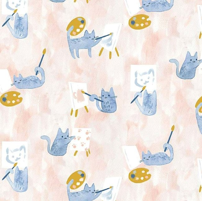 QC : Creative Cats - Painting Class (Multi)