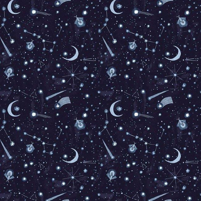 QC : Lantern Light - Night Sky (Indigo)