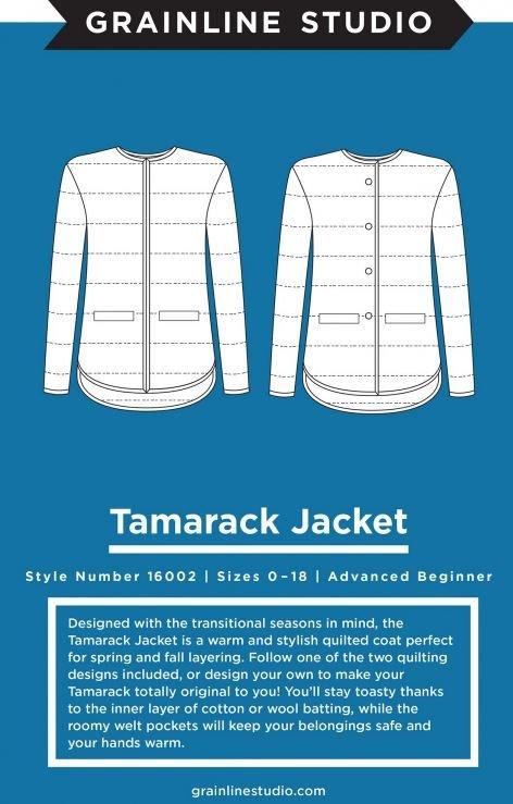 Tamarack Jacket Pattern