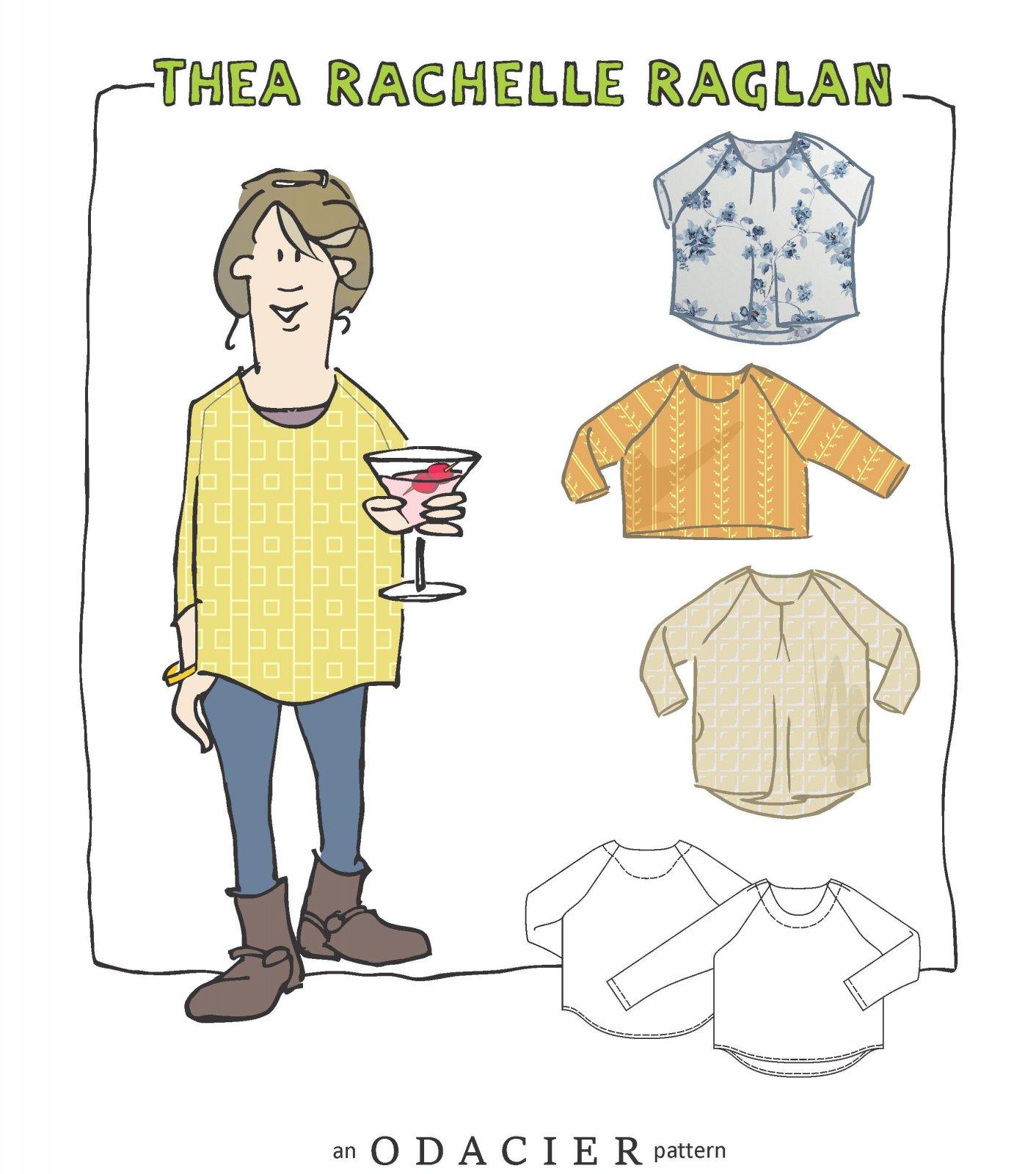 Thea Rachelle Raglan Pattern