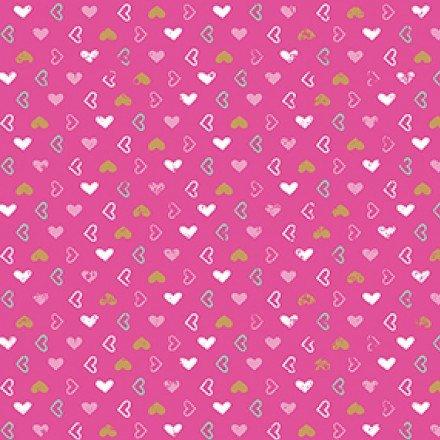 QC : Pen Pal - Hearts (Pink)