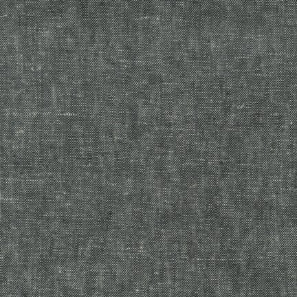 Brussels Washer : Linen/Rayon - Yarn Dyed Black