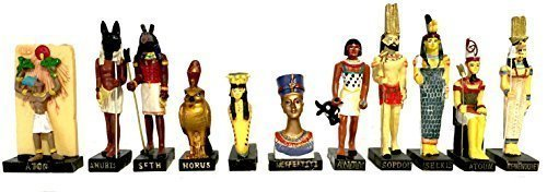 Ancient Egypt Egyptian God Resin Statue size 5 high