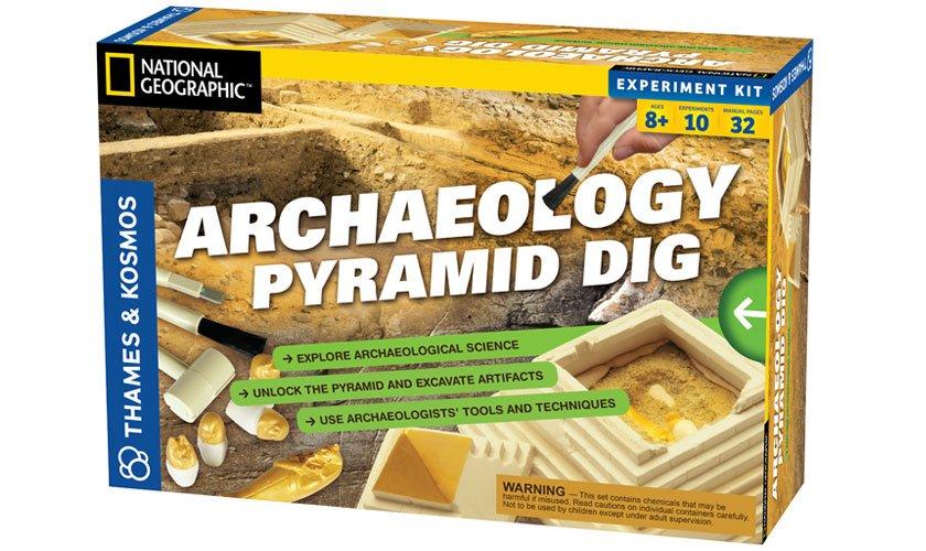 Archaeology: Pyramid Dig