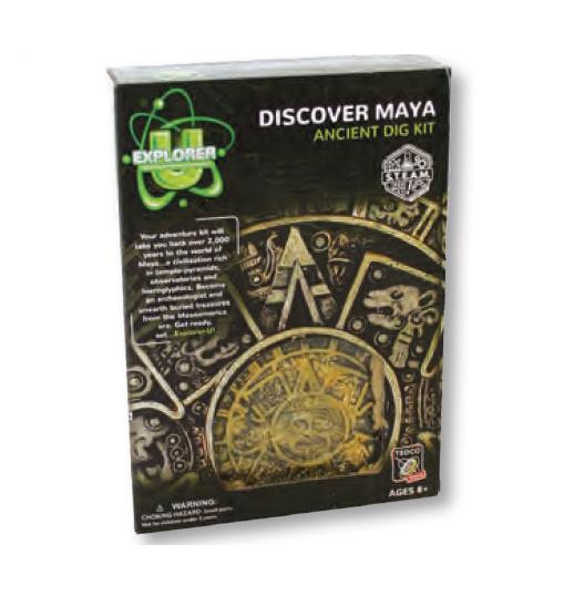 Maya Discover Dig Kit - Explorer U