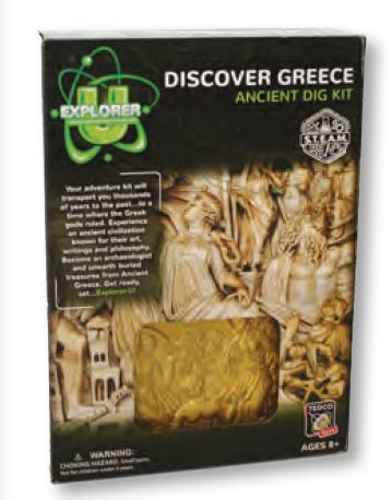 Greece Discover Dig Kit - Explorer U