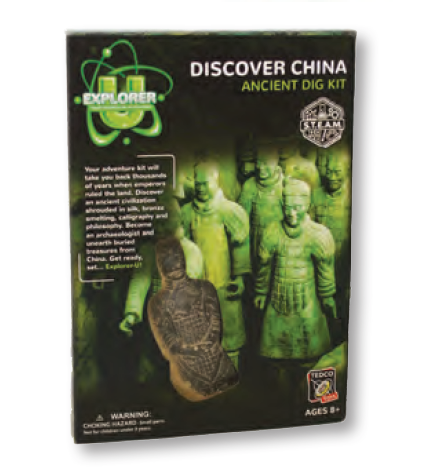 China Discover Dig Kit - Explorer U