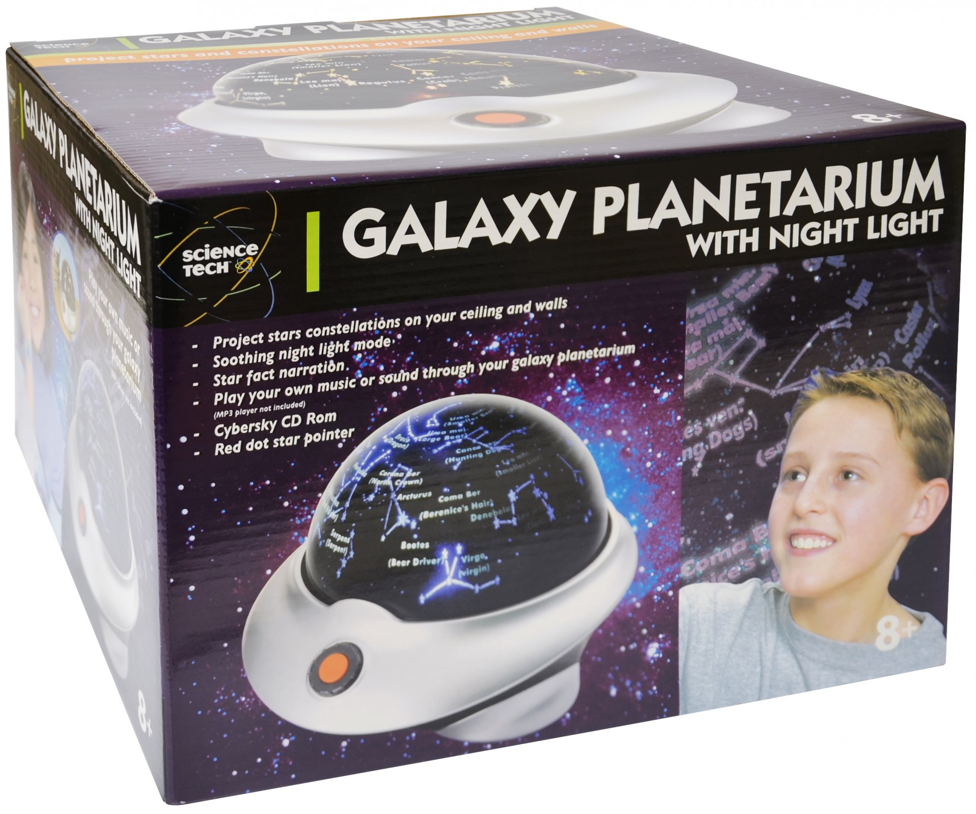 Galaxy Planetarium with Night Light