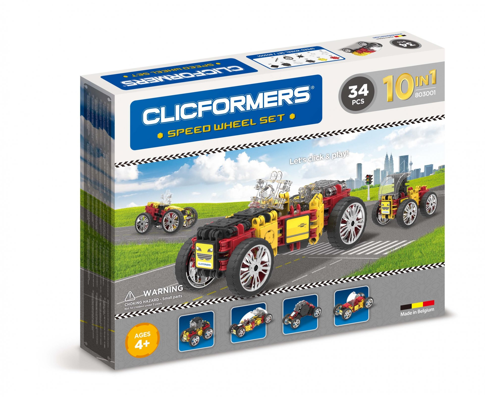 CLICFORMERS Speed Wheel Set 34 PCS
