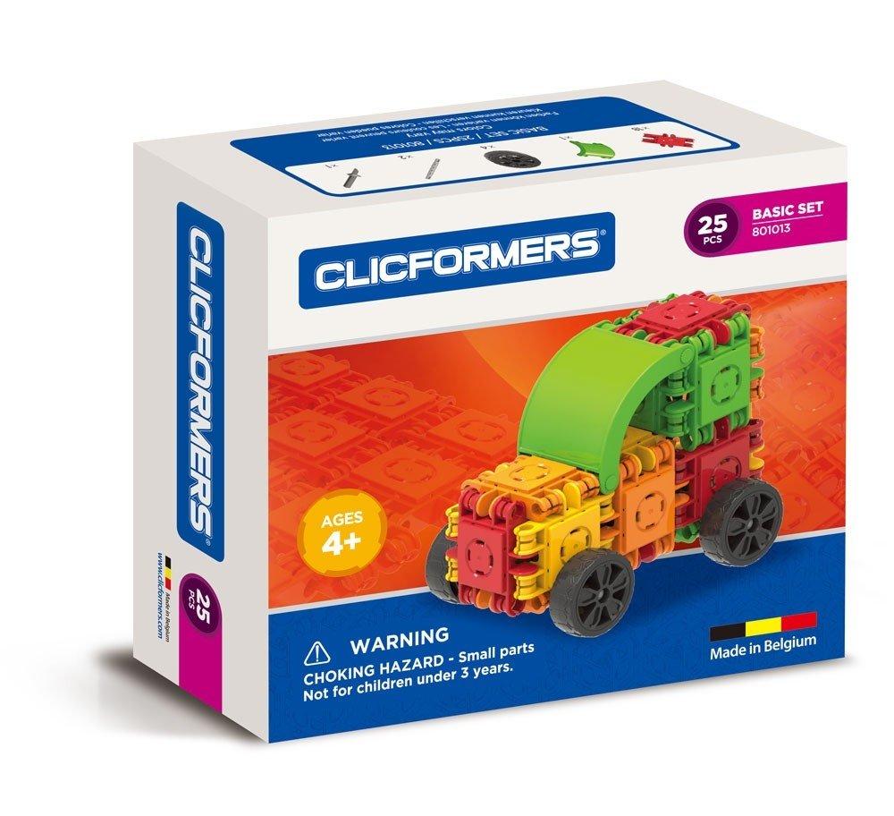 CLICFORMERS Car 25 PCS Set
