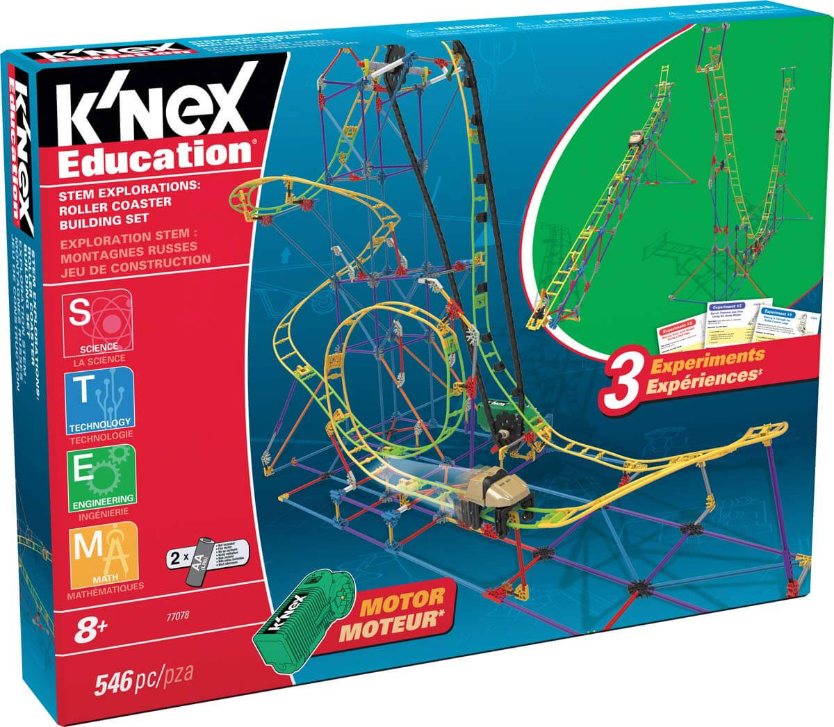 STEM Explorations: Roller Coaster Building Set