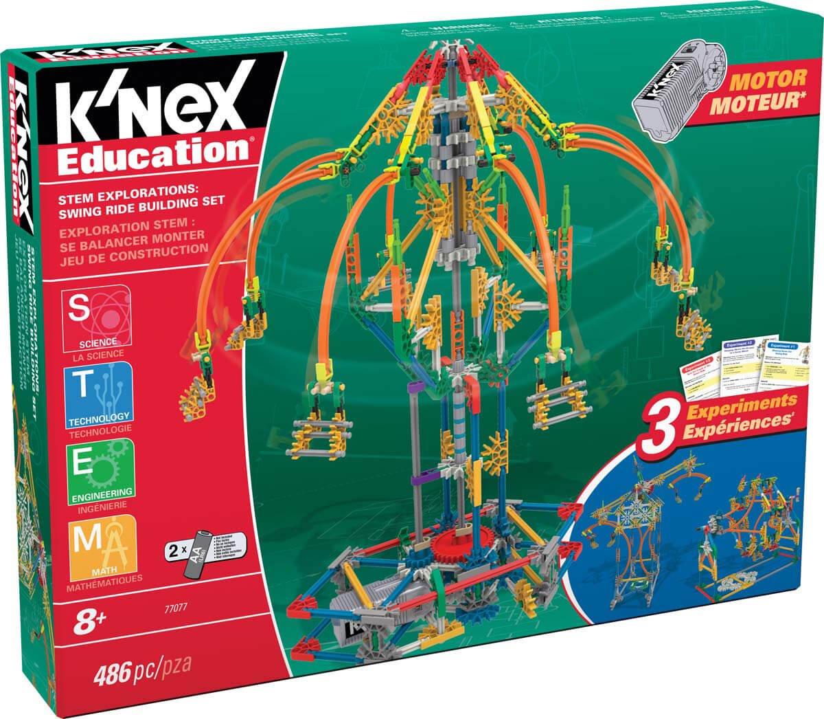 STEM Explorations: Swing Ride Building Set