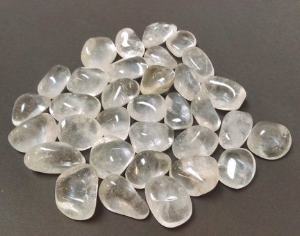 Clear Quartz Tumbled Stone Large
