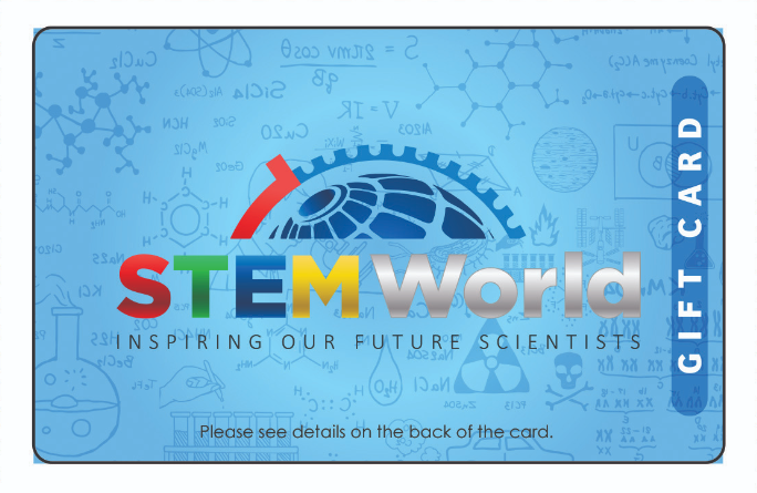 STEM World Gift Card - $25