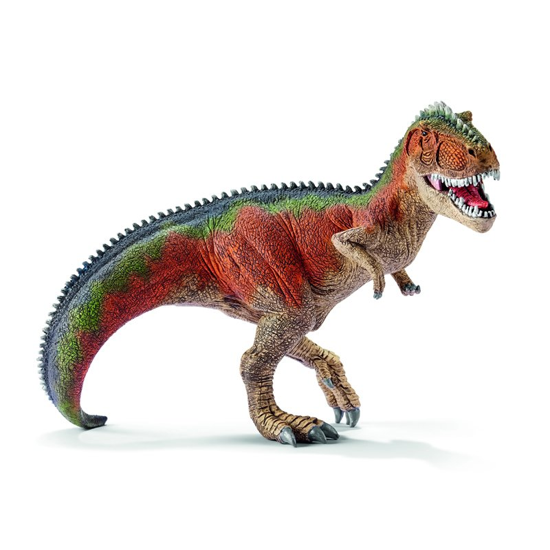 Giganotosaurus Orange Toy Figurine
