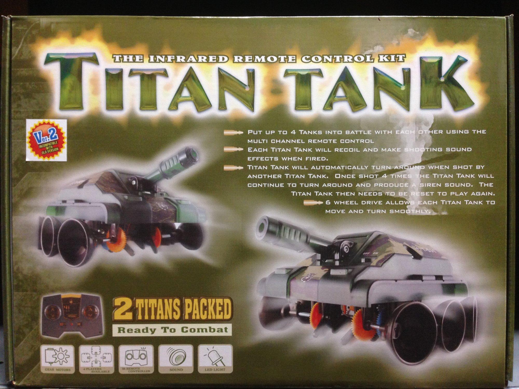 Titan Tank Kit (twin pack)