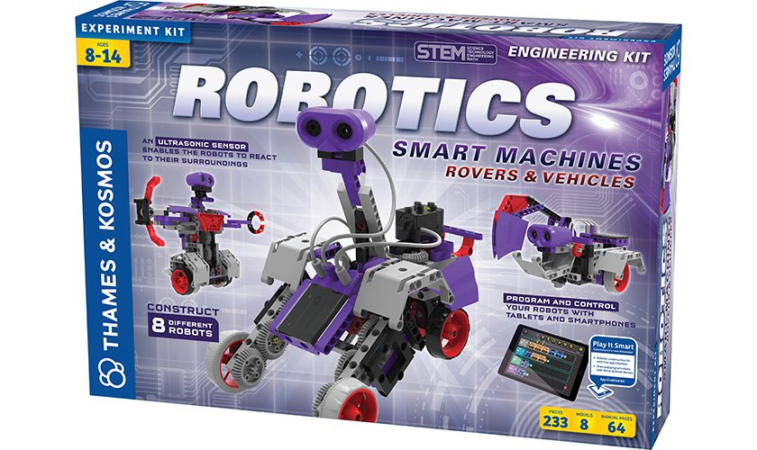 Robotics Smart Machines: Rovers & Vehicles
